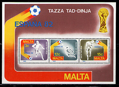 MALTA 1982 MNH SC.618A World Cup Soccer Spain