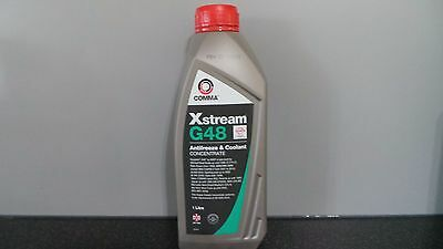 Comma XStream G48 Antifreeze & Coolant Concentrate Jag/Merc/BMW/Volvo/VW/Seat 1L