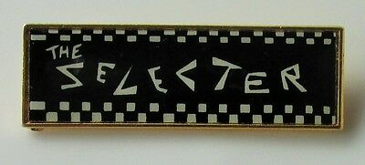 THE SELECTER VINTAGE METAL PIN BADGE FROM THE 1980's TWO TONE SKA