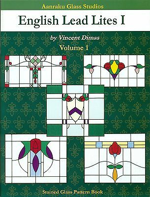 English Lead Lites Stained Glass Pattern Book, Books, Victorian Panels, Windows