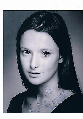 Katherine Heath Stage and TV Actress  -  Hand Signed Photograph 10 X 8