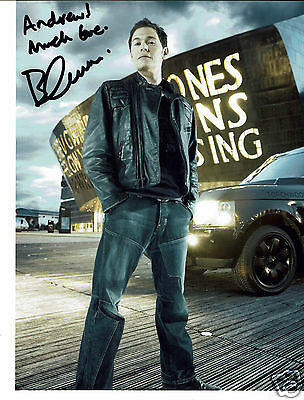 Burn Gorman Actor Man in the high castle Hand Signed Photograph 6 x 4