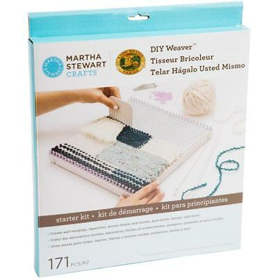 Martha Stewart D I Y weaver Knit Weave Kit  starter Set Board 11 inch