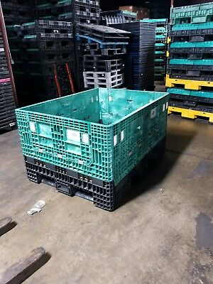Plastic Collapsible Bulk Container 64x48x34