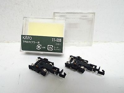 N Gauge Kato 11-006 Pair Of Tr69 Shorty Bogies Powered Chassis New Boxed (N204)