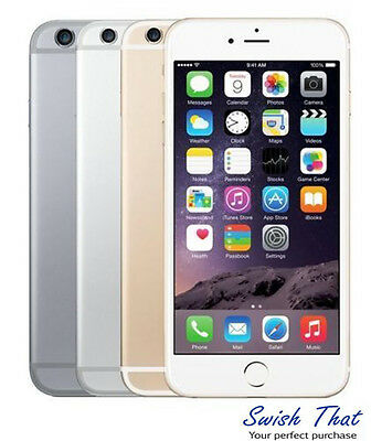 Apple iPhone 6 Plus-16GB 64GB GSM Factory Unlocked Smartphone Gold Gray Silver