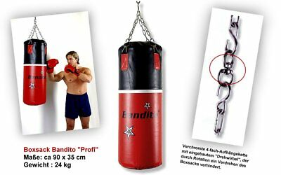Punching bag Box Sack Bandito Pro, 90 x 35 cm, 24 kg, new
