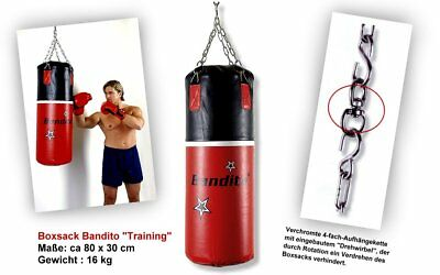 Punching bag Box Sack Bandito Training, 80 x 30 cm, 16 kg