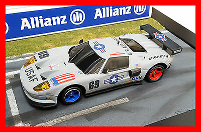 """Ninco Pro Race - Ford Gt Custom Livery """"usaf - United States Air Force"""""""