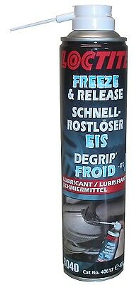 Loctite Freeze & Release Spray for all rusty nuts & bolts (400ml)