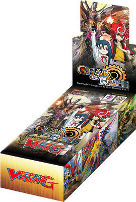 Cardfight Vanguard Cards: Gear of Fate G-CB04 Sealed Booster Box - 12 Packs