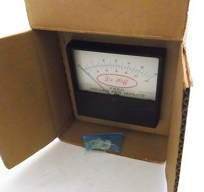 API / LFE 53-6731-0000 Feed Meter (Model 0508) - De Hoff Gun Drill Feed Meter