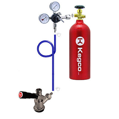 Kegco Direct Draw Kit for Kegerators and Jockey Boxes with 5 lb. CO2 Tank