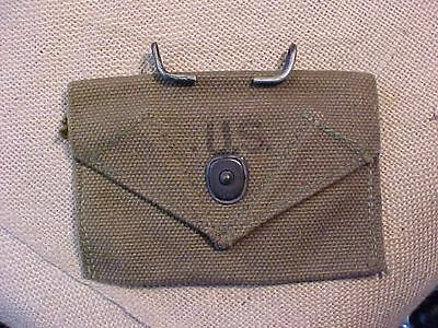 Original Wwii Us 1944 Dated Super Clean 1St Aid / Bandage Pouch