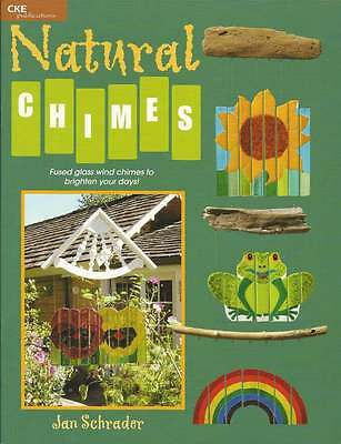 Natural Chimes Fused Fusing Glass Wind Chimes Pattern Book New/Old Stock NOS