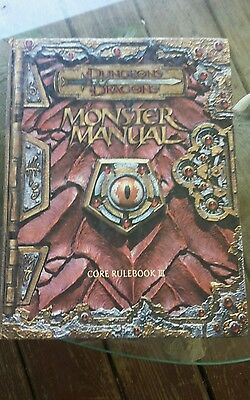 Dungeons and Dragons Monster Manual 3e TSR11552