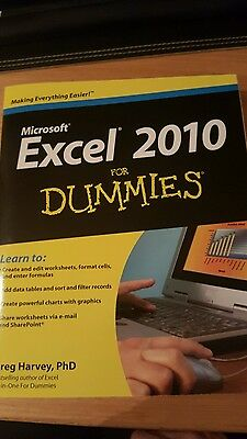Excel 2010 for Dummies-Greg Harvey
