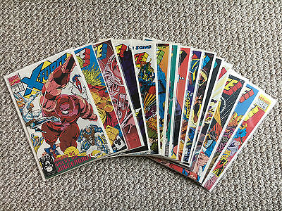 X-Force 3, 12-14, 16-22, 24, 26, 27 Annual 1 Lot of 15 Marvel Comics Cable