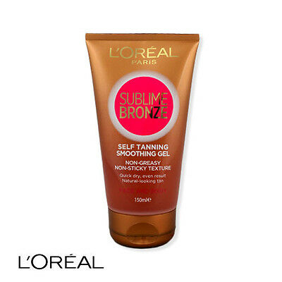 L'Oreal Sublime Bronze Smoothing Gel Self Tanning Face And Body 150ml