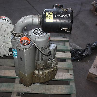 Becker Dietz SV 5.430/1 460m3/h 200mbar 4KW 3 phase vacuum side channel BLOWER