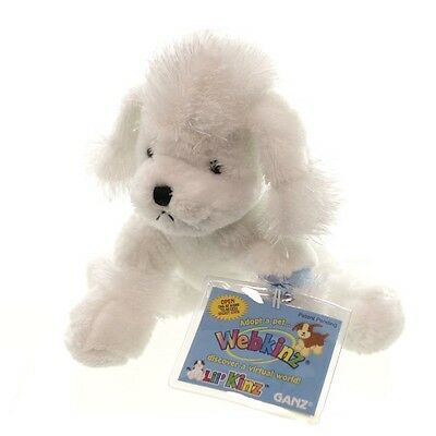 Webkinz Lil'Kinz White Poodle-Brand New w/Sealed Code-Quick 2 Ship ~ Free Ship