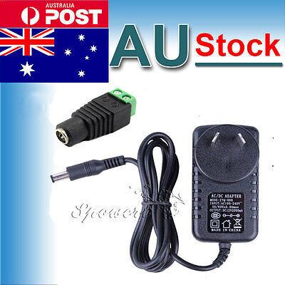 AU Plug 12V 2A 24W AC/DC Adapter Charger Power Supply For 5050 3528 Strip Lights