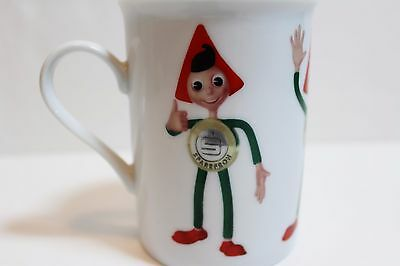 German Sparefroh Porcelain Coffee cup mug Bank Promotion Mascot