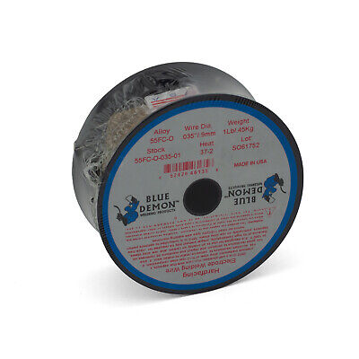 Hard Facing 55FC GASLESS MIG Wire 0.9mm x 0.9kg spool Welding Wire Surfacing