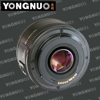 Yongnuo YN50mm F1.8 Large Aperture Auto Focus Lens for Canon EF Mount EOS