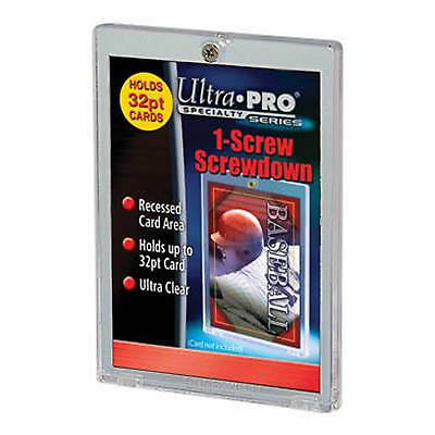 Ultra-Pro 1-Screw Screwdown Frame for 32pt Thick (.81mm) Trading Cards