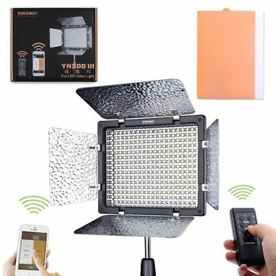 YONGNUO YN-300III 18w Pro LED Studio Video Light 3200-5500K For Canon Nikon