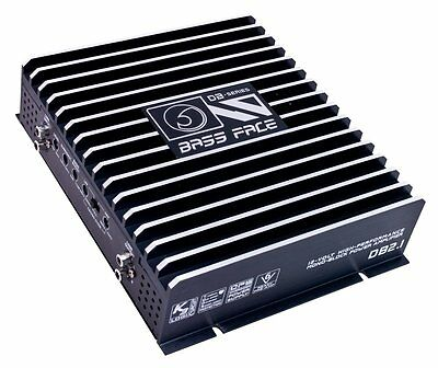 Bass Face DB2.1 800W Stereo 2 Channel Car Amplifier