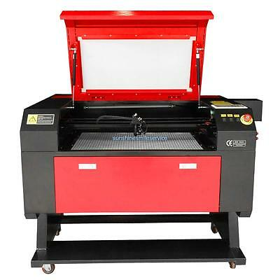 100W Laser Engraving Cutting Cutter Engraver Machine Water cooling LCD screen