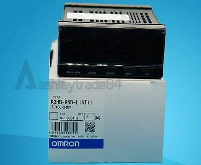 New Omron K3HB-RNB-L1AT11  Panel Meter 100-240VAC