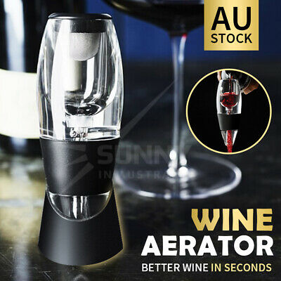 New Magic Decanter Essential Red Wine Aerator Sediment Filter Pouch