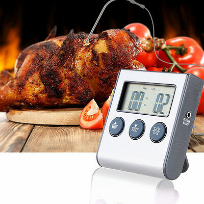 Digital LCD Food Probe Viande Instant Read Thermometer Cuisson BBQ Température