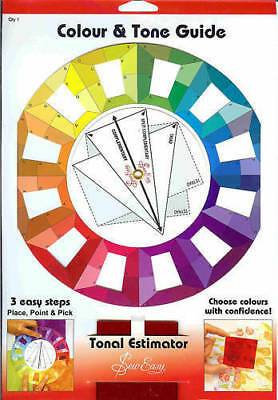 Brand New Sew Easy Colour Wheel with Tonal /Tone Estimator Guide ER995 Free Post
