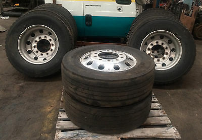 Truck Tyres and Alloy Rims