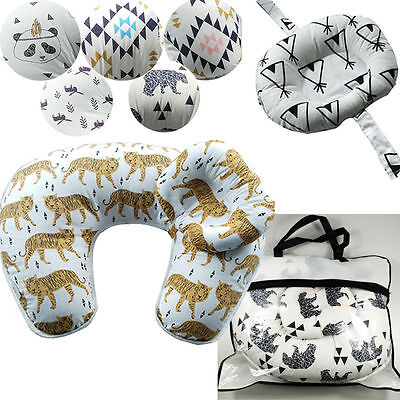 Breast Feeding Pillow Maternity Pregnancy Nursing Baby Support Cotton Cover