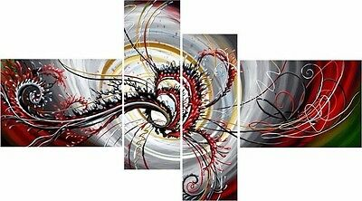 Abstract- EXTRA LARGE SPLIT FRAMED CANVAS PRINTS ! Modern Exclusive Art Painting