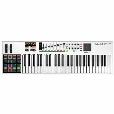 M Audio Code 49 MIDI Keyboard With Ableton Live Lite Software