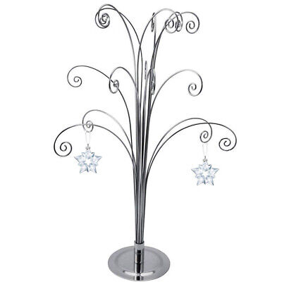 For 2018 LARGE ANNUAL CHRISTMAS ORNAMENT SWAROVSKI CRYSTAL Snowflake Star Stand