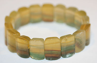 Fine Bracelet  Natural Fluorite  Beads Top Quality