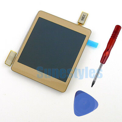 Original Touch Screen Digitizer LCD Display For Samsung Galaxy Gear SM-V700 Gold