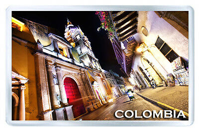 Colombia Mod2 Fridge Magnet Souvenir Iman Nevera