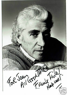 Frank Finlay British Actor  Hand Signed Photograph 6 x 4