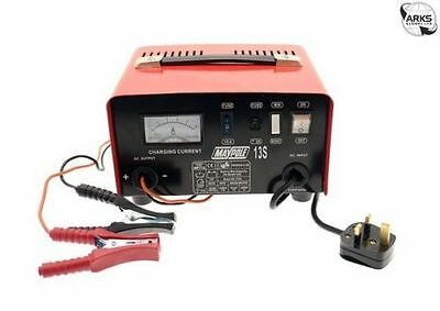 Maypole Metal Battery Charger 8A 12V - MP713