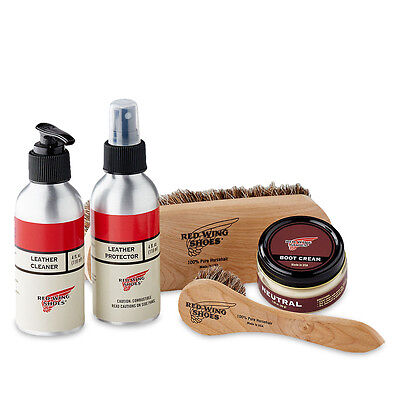 Red Wing Shoe Care - Smooth Finished Leather Care Kit - 97097