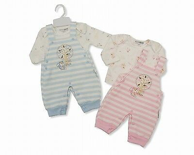 2 Piece Baby Boys Girls Dungaree Winter Clothes Set Outfit Gift