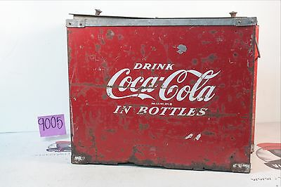 Vintage Coca Cola Shop Cooler Restoration Project-- Needs Work